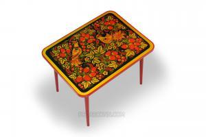 Стол с хохломской росписью