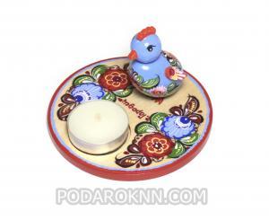 Набор пасхальная игрушка + свеча