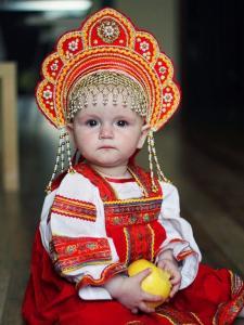 """Сарафан детский из хлопка """"Дарья"""" 86-92 см"""