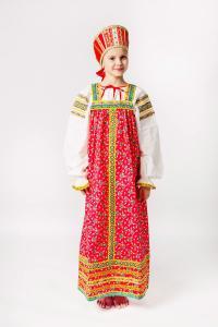 """Сарафан детский из хлопка """"Наталья"""""""