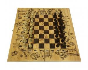 "Набор ""Рыцари"" (шашки, шахматы, нарды)"