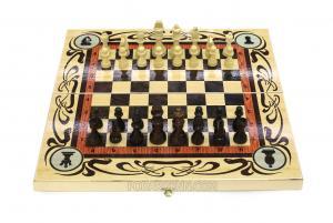 Набор 3в1 (шахматы, нарды, шашки)