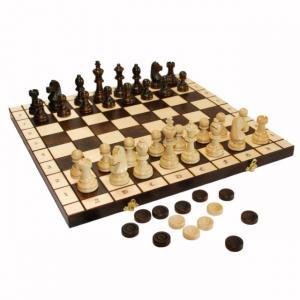 "Набор 2 в 1 ""Шахматы + шашки"""