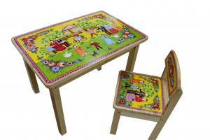Набор детской  мебели стол и стул