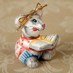 """""""Мышонок с книгой"""""""