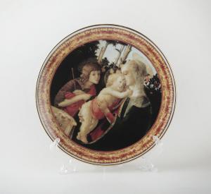 "Сувенирная тарелка ""Мадонна"""