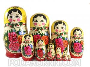 "Матрёшка ""Россияночка"" 10 - ти кукольная"