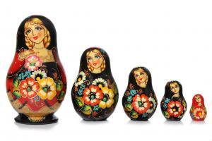 "Матрёшка ""Букет цветов"""