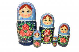 "Матрёшка  ""Россияночка"" 5 - ти кукольная"