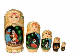 """Матрёшка """"Золотая рыбка"""" 5 - ти кукольная"""