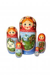 """Матрёшка """"Сказка"""" 5 - ти кукольная"""