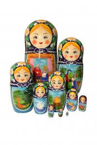 """Матрёшка """"Сказка"""" 10 - ти кукольная"""