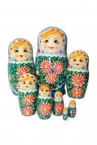 """Матрёшка """"Россияночка"""" 8-и   кукольная"""