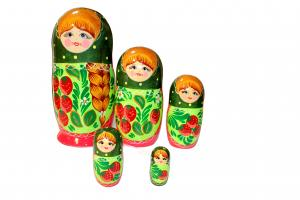 Матрёшка  5 - ти кукольная