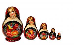 """Матрёшка """"Сад"""" 5 - ти кукольная"""