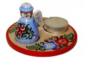 Пасхальный набор: игрушка + свеча