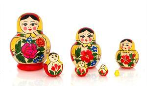 """Матрёшка """"Катюша"""" 7 - и кукольная"""