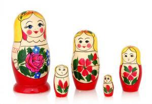 """Матрёшка """"Сударушка"""" 5-ти кукольная"""