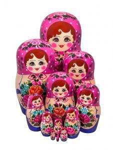 Матрёшка 12-ти кукольная