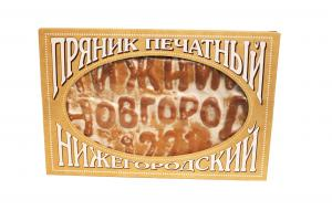 """Пряник печатный """"Нижний Новгород"""" сгущёнка+грецкий орех"""