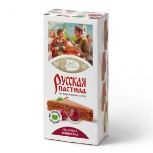 """Пастила Русская """"Яблочно-вишнёвая"""""""