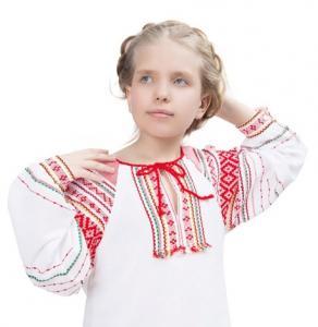 """Детская русская народная рубаха """"Звёздочка"""""""
