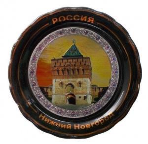 """Магнит-тарелка """"Кремль"""""""