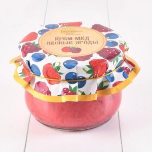 Крем-мёд с лесными ягодами