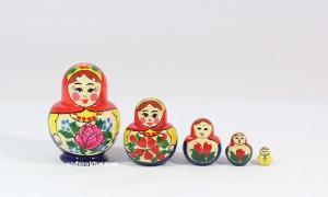 """Матрёшка """"Катюша"""" 5 - ти кукольная"""