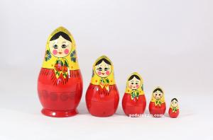 "Матрёшка ""Грушенька"" 5 - ти кукольная"