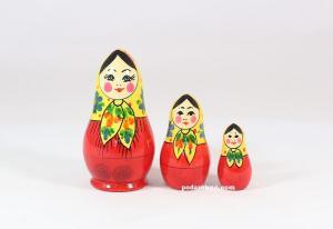 """Матрёшка """"Грушенька""""  3 - х кукольная"""