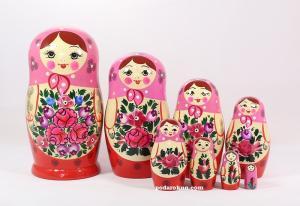 Матрёшка 8 - ми  кукольная