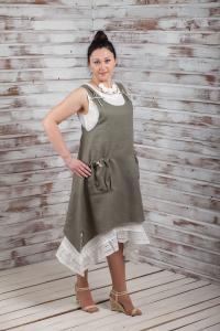 Комплект платье + сарафан